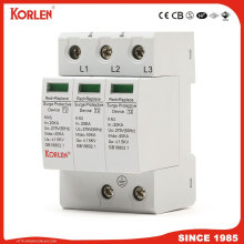 Lightning Surge Arrester 40ka Kns Surge Protection Device Power SPD 3p
