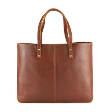 Vintage Large Handbag Leather Tote Bag for Lady
