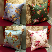 Europe style for for Embroidery For Bedding Hand Embroidered Cushion Or Throw Pillow export to British Indian Ocean Territory Importers