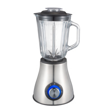powerful 500W stainless steel housing glass jar blender