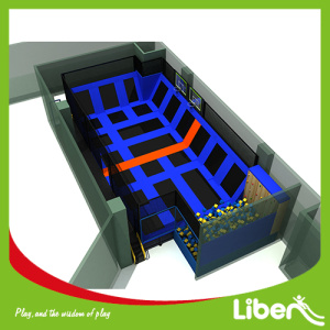 China New Product for Indoor Trampoline Park big indoor basketball trampoline park supply to Saudi Arabia Manufacturer