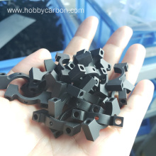 16mm CNC aluminum carbon fiber tube clamp