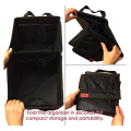 Red Stitching Car Seat Organizer for Front Backseat
