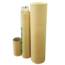 Kraft Paper Tube Pencil Packaging Box