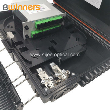 Wall Mounted Fiber Optical Terminal Box Sc Lc 16 Core