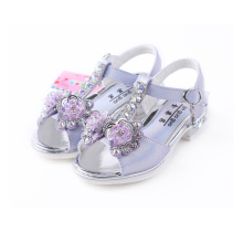 Girls' Leather Rubber Sandals Shoes