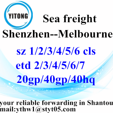Shenzhen High Competitive Transportation Service to Melbourne