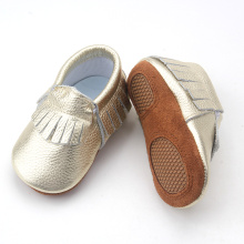 Cute Bow Soft Leather Moccasins Baby Shoes 2018