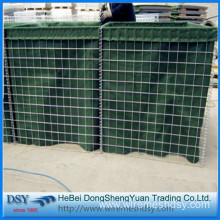 hot dipped galvanized welded  defensive hesco barriers for military