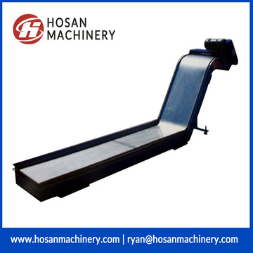 CNC machine permanent magnetic type chip conveyor