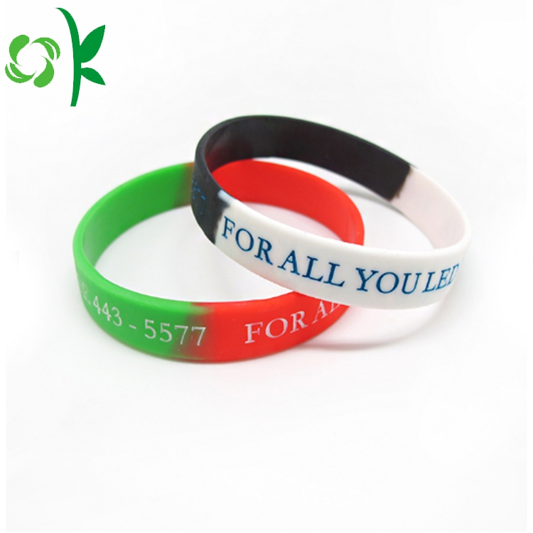 Silicone Wristbands Custom Logo