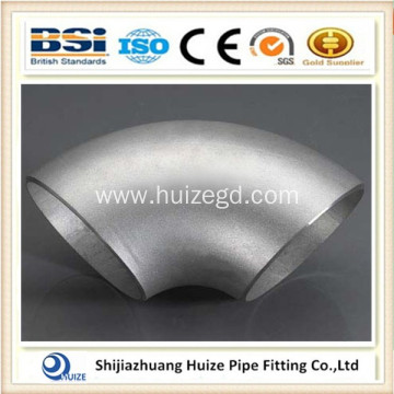 90 degree aluminium alloy steel butt welding elbow