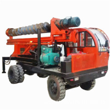 Holiday sales for Screw Type Photovoltaic Pile Driver Truck mini drilling rig for pile drilling export to Botswana Suppliers