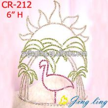 Rhinestone Crowns Animal shape Cr-212