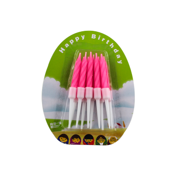 Birthday Candle Color Spiral Candle