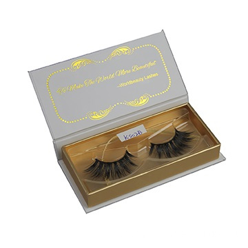 Custom Luxury False Eyelashes Packaging Box with Blister