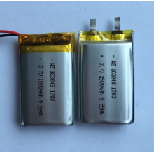 OEM manufacturer custom for Lithium Ion Polymer Battery 1500mAh Lipo Battery For Dash Cam (LP3X4T10) export to Togo Exporter