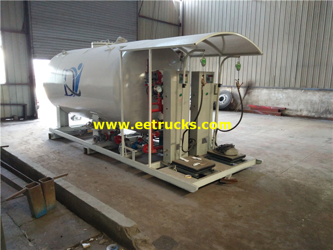 10000L Cooking Gas Skid Stations