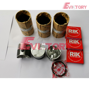 MITSUBISHI K3D rebuild overhaul kit gasket bearing piston