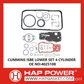 CUMMINS ISBE LOWER SET 4 CYLINDER
