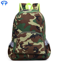 Camouflage leisure travel backpack