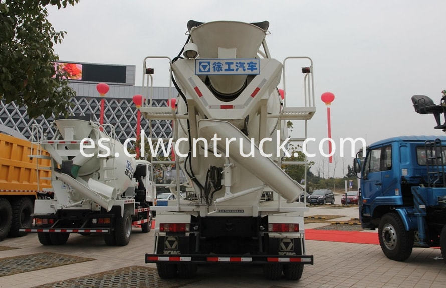 concrete mixer truck price 4