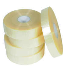 yellow transparent adhesive sticky tape
