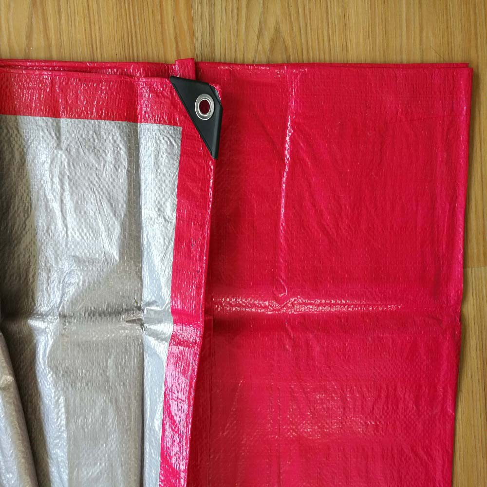 Red readymade Tarpaulin Sheet