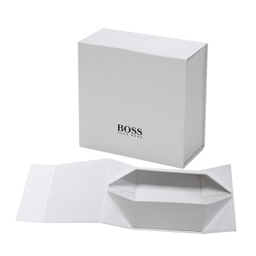 Flat Folding Paper Magnetic Gift Box Packaging