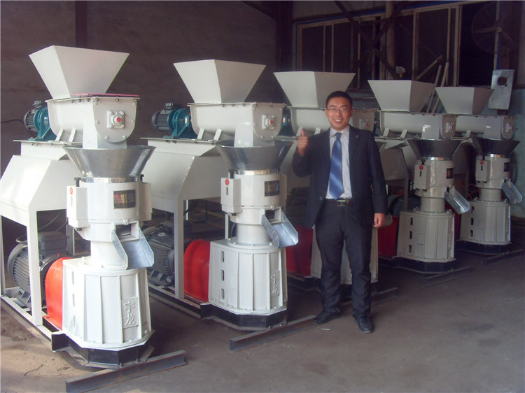 Small organic fertilizer pellet machine