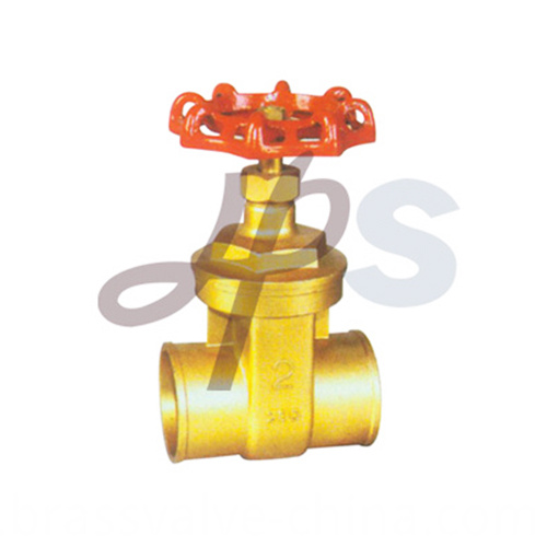 Brass Solder Gate Valves Hg18