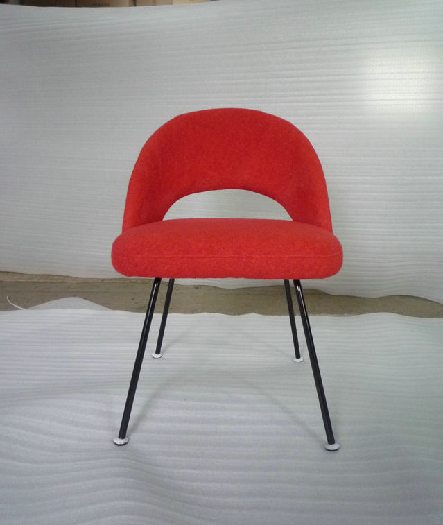 Fabric restaurant chair
