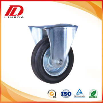 5 inch rigid plate caster