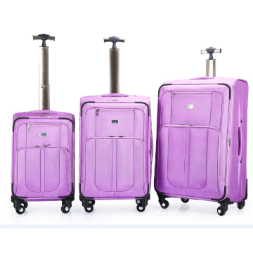 Waterproof  Soft Trolley Luggage With Coded Lock