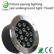 Fixture paving lighting led underground light 15watt