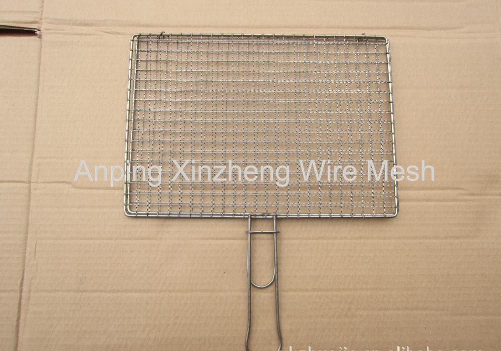 Barbecue Wire Mesh with handle