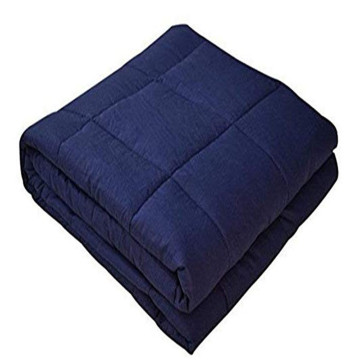 60 * 80 '' polegadas 12lbs weighted blanket 100% algodão