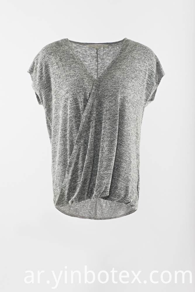 Grey Sleeveless Tshirt