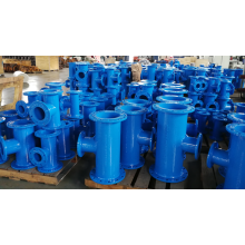 Ductile  Iron Double All Flanged Tee