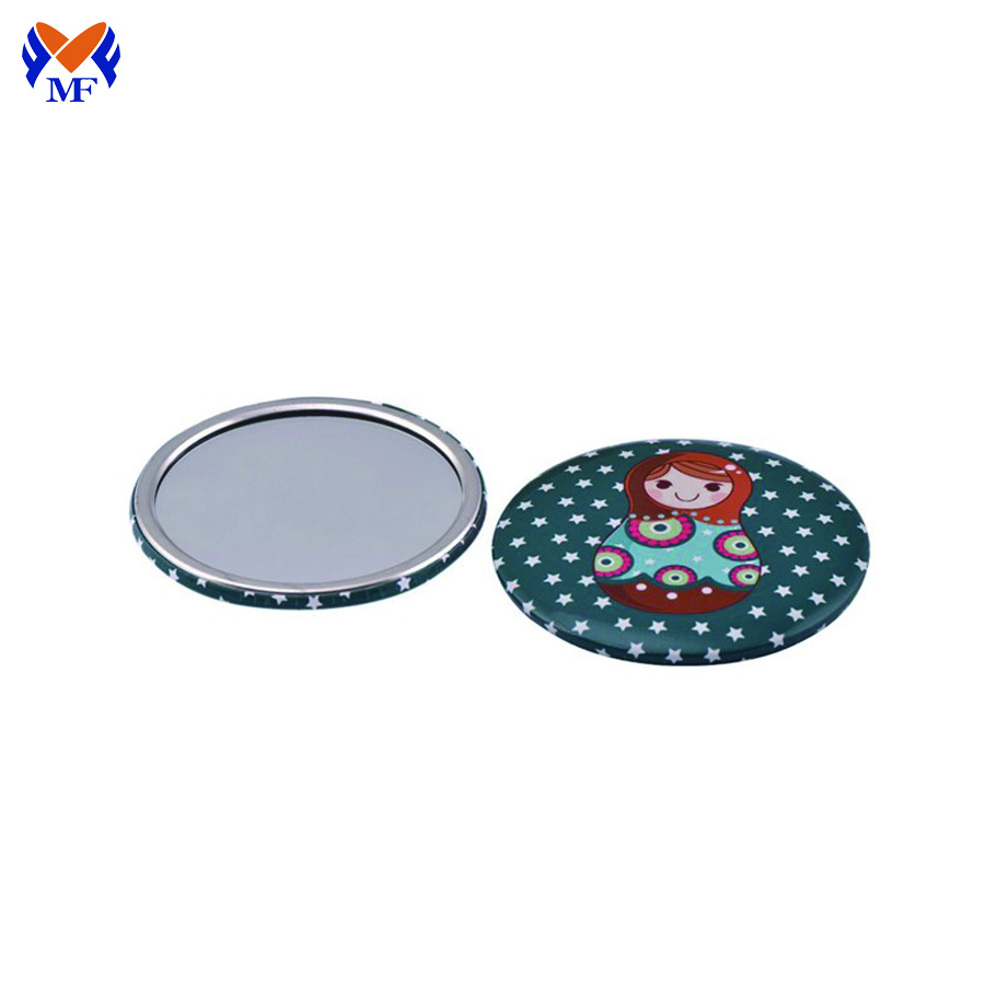Pocket Mirror With Logo