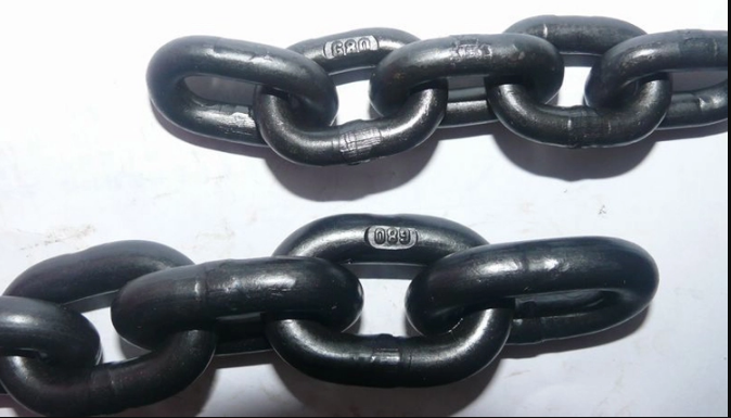 G80 black load steel link chain