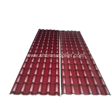 Iron-Crown Fireproof No-Asbestos Fiberglass MgSO4 Roof Sheet