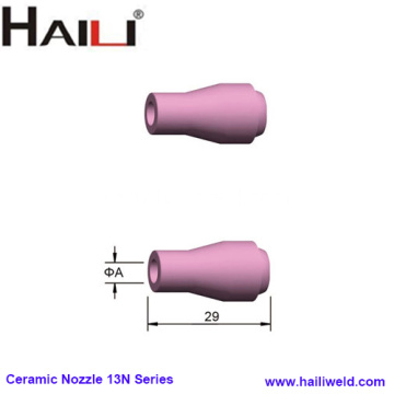 TIG Torch Ceramic Nozzle 13N Series