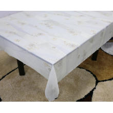 Printed pvc lace tablecloth by roll holiday