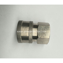 "Pressure Washer 3/8"" Female NPT-F Quick Connect Coupler 5000 PSI"