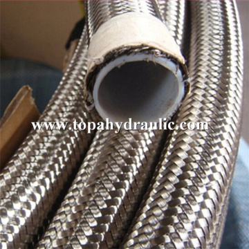 fuel ptfe flexible stainless steel braided hoses