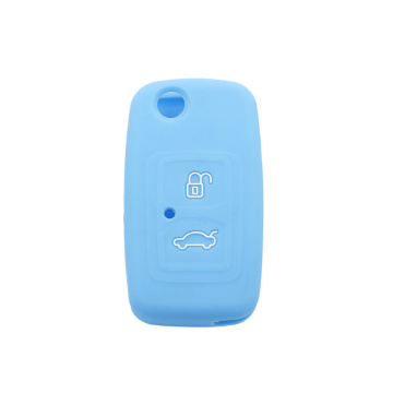 Chery embossed 2 buttons silicone key cover