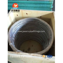 Leading for  Stainless Steel Coil Tube ASTM A269 TP316L supply to Anguilla Exporter