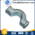 Cross over G.I pipe fittings