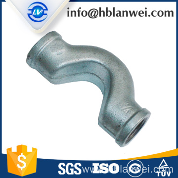 High definition Cheap Price for Malleable Iron Pipe Elbow Cross over G.I pipe fittings supply to French Polynesia Factories